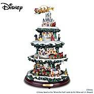 The Bradford Exchange Disney Tabletop Christmas Tree: The Wonderful World Of Disney at Sears.com