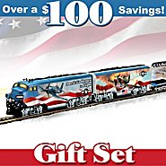 Hawthorne Village America's Freedom Flyers WWII Fighter Plane HO-Gauge Train Set at Sears.com