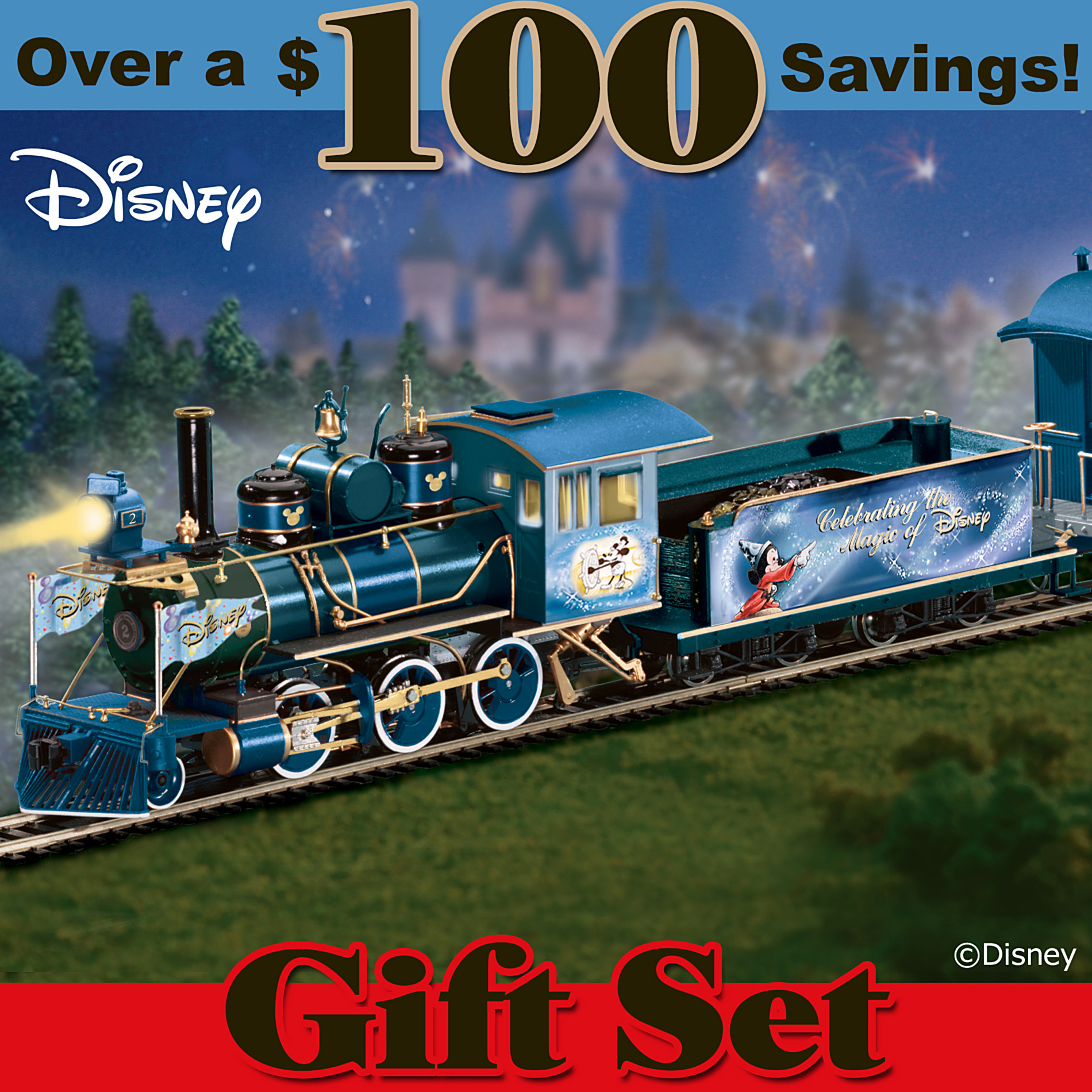 Hawthorne Village Train Set: Magic Of Disney Express Train Set at Sears.com