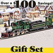 Hawthorne Village Thomas Kinkade's Illuminated Christmas Express Train Set at Sears.com