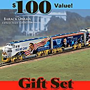 Hawthorne Village The Movement For Change Express: Collectible Barack Obama Train Set at Sears.com