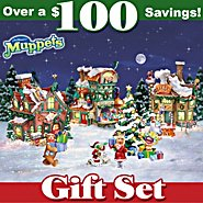 Hawthorne Village Jim Henson's The Muppets North Pole Christmas Village Bundle at Sears.com