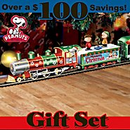 Hawthorne Village PEANUTS Charlie Brown Christmas Express Train Set at Sears.com