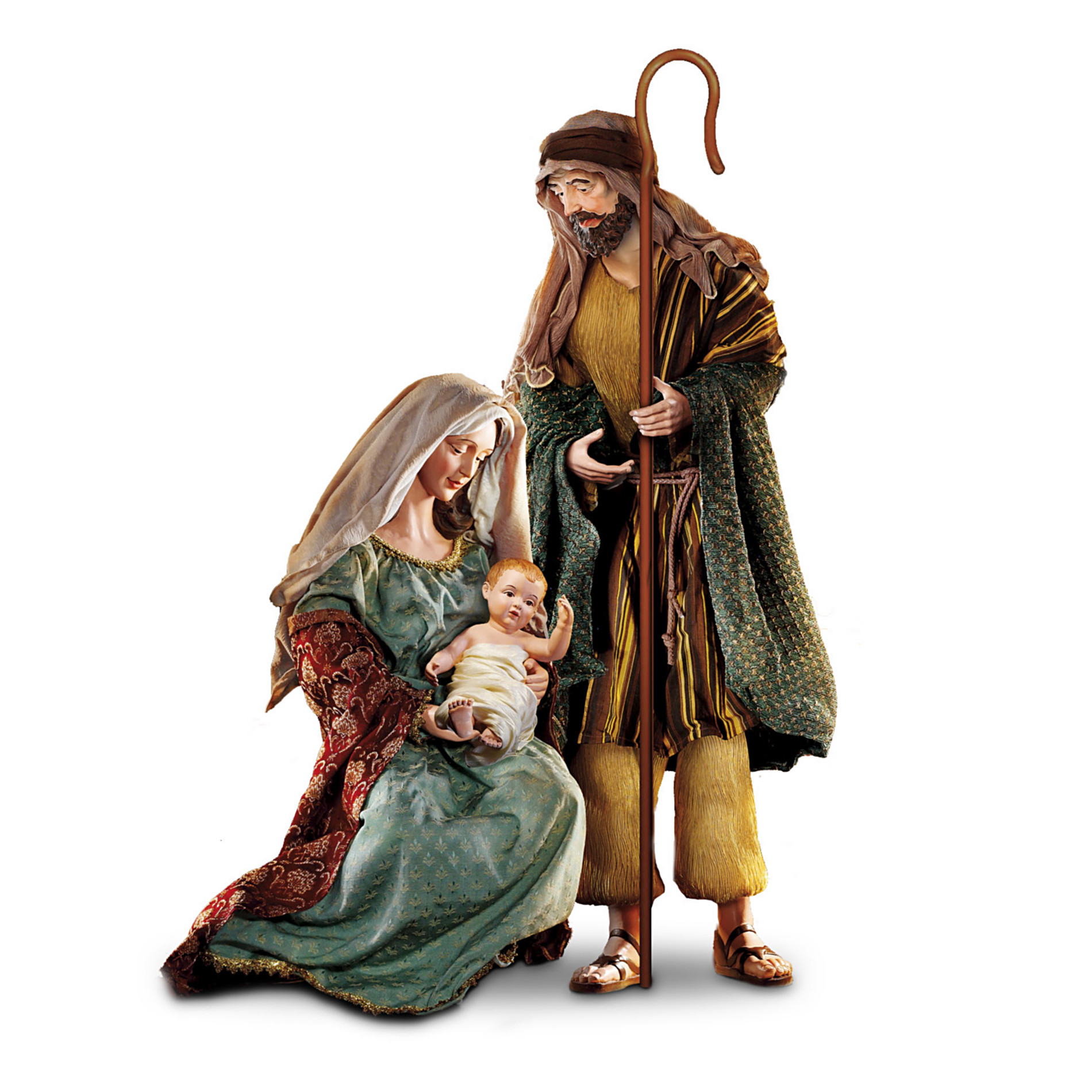 Hawthorne Village Nativity Set: Thomas Kinkade Holy Nativity Set at Sears.com