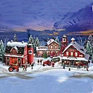 Hawthorne Village Village Set: Farmall Holiday Village Set at Sears.com