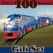 Hawthorne Village Chicago Cubs Express Train Gift Set at Sears.com