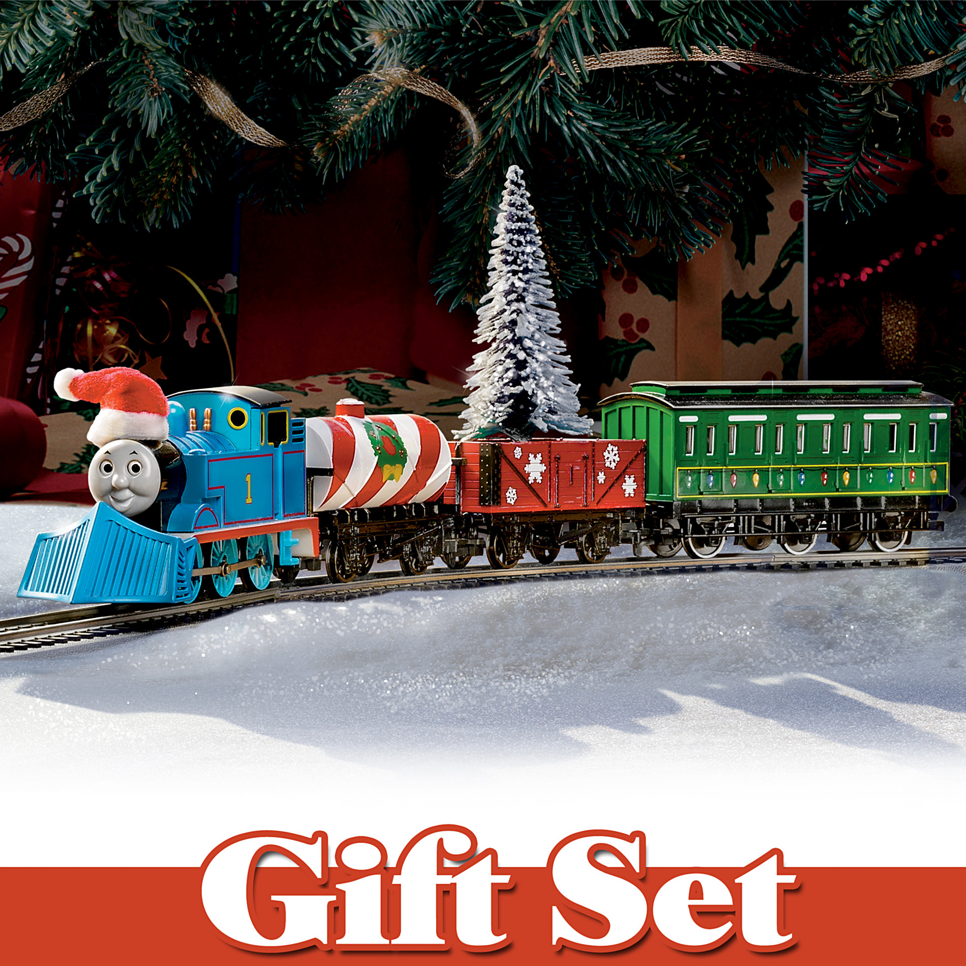 "Hawthorne Village ""Thomas Holiday Special"" Deluxe 22-Piece Train Set at Sears.com"