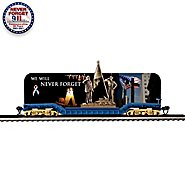 Hawthorne Village World Trade Center Tribute Flat Bed Electric Train Car: We Will Never Forget at Sears.com