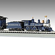 Hawthorne Village The Royal Blue N Scale Steam Locomotive Train Set at Sears.com