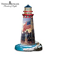 "Hawthorne Village Thomas Kinkade ""The Light Of Freedom"" Lighthouse Sculpture at Sears.com"
