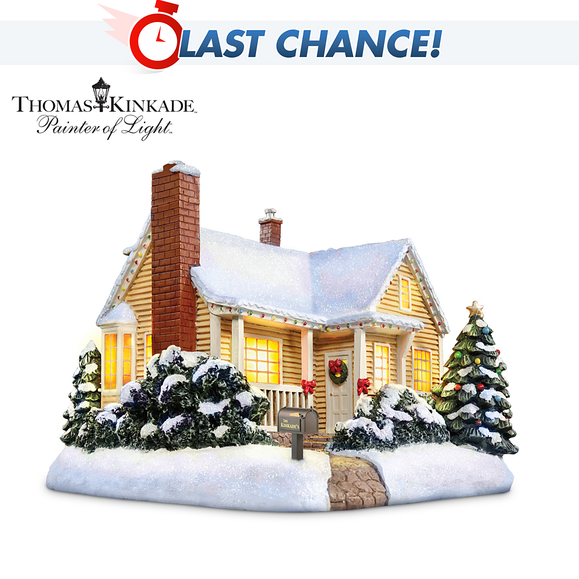Hawthorne Village Thomas Kinkade Christmas Cottage Village Accessory at Sears.com