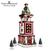 Hawthorne Village Thomas Kinkade Christmas Bell Tower Village Accessory at Sears.com