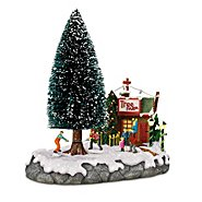 Hawthorne Village Christmas Tree Farm Sculpture at Sears.com