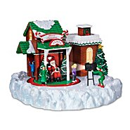 Hawthorne Village Santa Claus Village Accessory: Pictures With Santa at Sears.com