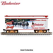 Hawthorne Village Budweiser Personalized Train Car: Grab Some Buds at Sears.com