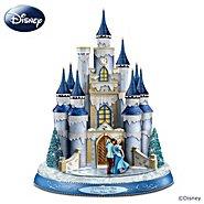 Hawthorne Village Sculpture: Disney Dreams Come True Illuminated Castle Sculpture at Sears.com