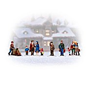 The Bradford Exchange Whistlestop Junction Christmas Village Accessory Set at Sears.com