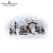 Hawthorne Village Christmas Gate Village Accessory Set at Sears.com