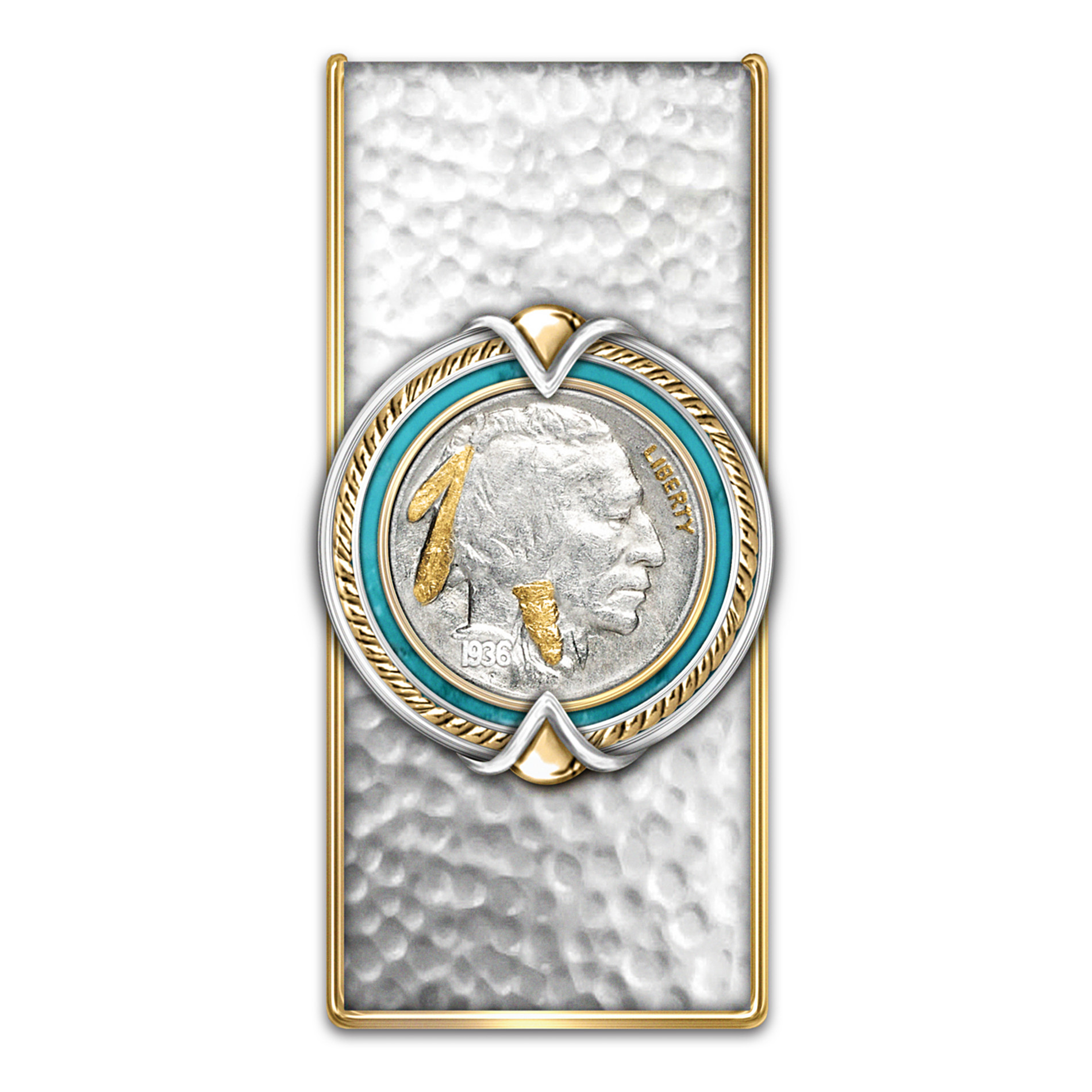 Bradford Authenticated Indian Head Nickel Money Clip at Sears.com