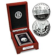 """Bradford Authenticated Coin: The """"Only"""" 21st Century Morgan Silver Dollar Coin at Sears.com"""