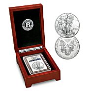 Bradford Authenticated Coin: Early Release 2014 American Eagle Silver Dollar Coin at Sears.com
