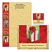 The Bradford Exchange 'Tis The Season Personalized Stationery at Sears.com