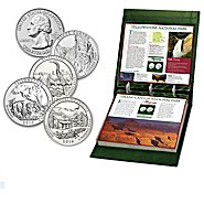Bradford Authenticated U.S. National Parks Quarters Coin Collection at Sears.com