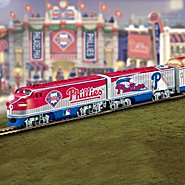 Hawthorne Village Philadelphia Phillies Express Major League Baseball Train Collection at Sears.com