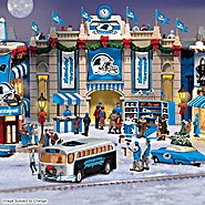 Hawthorne Village Carolina Panthers Collectible Christmas Village Collection at Sears.com
