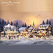 The Bradford Exchange Thomas Kinkade's Collectible Village Christmas Collection at Sears.com