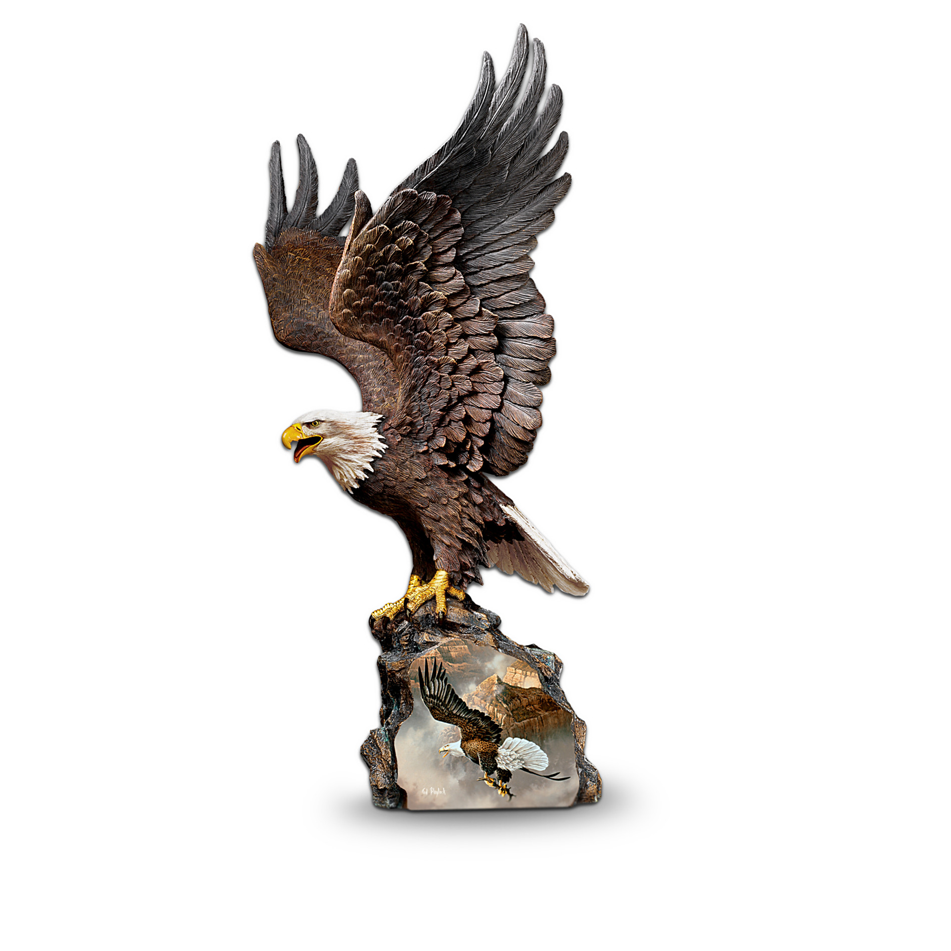 The Bradford Exchange Ted Blaylock's Winged Protectors Collectible Eagle Sculpture Collection at Sears.com