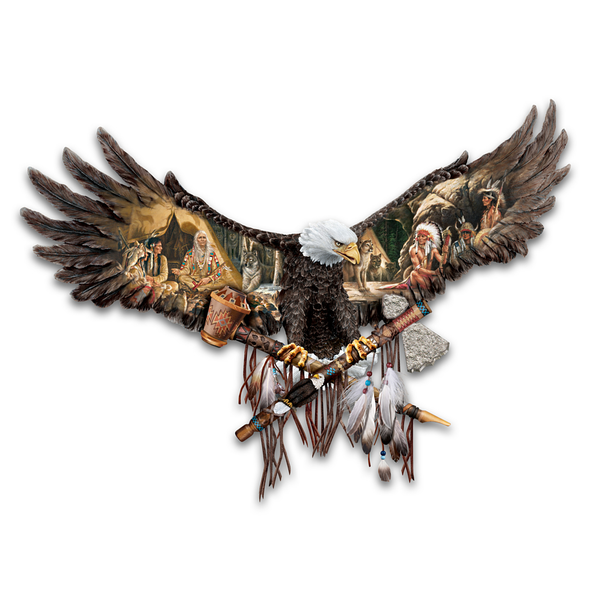 The Bradford Exchange War And Peace Bald Eagle Wall Decor Collection at Sears.com