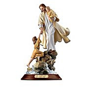 The Bradford Exchange Visions Of Saving Grace Jesus Christ Figurine Collection: Christian Religious Home Decor at Sears.com