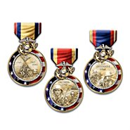 The Bradford Exchange United States Marine Corps Medals Of Valor Wall Decor Collection at Sears.com