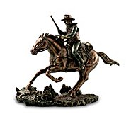The Bradford Exchange John Wayne: Tall In The Saddle Sclupture Collection at Sears.com