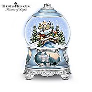The Bradford Exchange Thomas Kinkade Songs Of The Season Holiday Snowglobe Collection at Sears.com