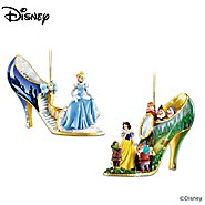 The Bradford Exchange The Disney Once Upon A Slipper Shoe Ornament Collection at Sears.com