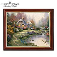 The Bradford Exchange Thomas Kinkade Wooden Framed Canvas Print Wall Decor Collection: Seasons Of The Heart at Sears.com