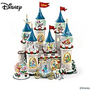 The Bradford Exchange Disney's Christmas At The Castle Miniature Snowglobe Collection at Sears.com