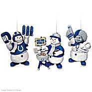 "The Bradford Exchange The Indianapolis Colts ""Coolest Fans"" Ornament Collection at Sears.com"