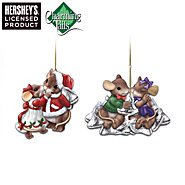 The Bradford Exchange Charming Tails And Hershey's Ornament Collection: Sweet And Charming at Sears.com