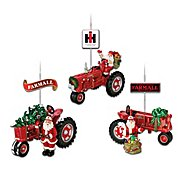 The Bradford Exchange 75 Years Of Farmall Red Fully Sculpted Farmall Tractor Christmas Ornament Collection at Sears.com