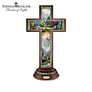 The Bradford Exchange Thomas Kinkade Light Of Faith Cross Collection at Sears.com