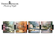 The Bradford Exchange Thomas Kinkade Porcelain Art Prints Wall Decor Collection: Seasons Of Radiance at Sears.com