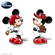 The Bradford Exchange Disney Salt And Pepper Shaker Collection: Spicing Up The Season St. Louis Cardinals at Sears.com