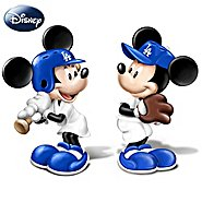The Bradford Exchange Disney Salt And Pepper Shaker Collection: Spicing Up The Season Los Angeles Dodgers at Sears.com
