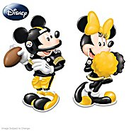 The Bradford Exchange Disney Spice Up The Season Pittsburgh Steelers Salt And Pepper Shakers Collection at Sears.com