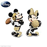 The Bradford Exchange Salt And Pepper Shakers: Disney New Orleans Saints Spicing Up The Season Salt And Pepper Shaker Collection at Sears.com