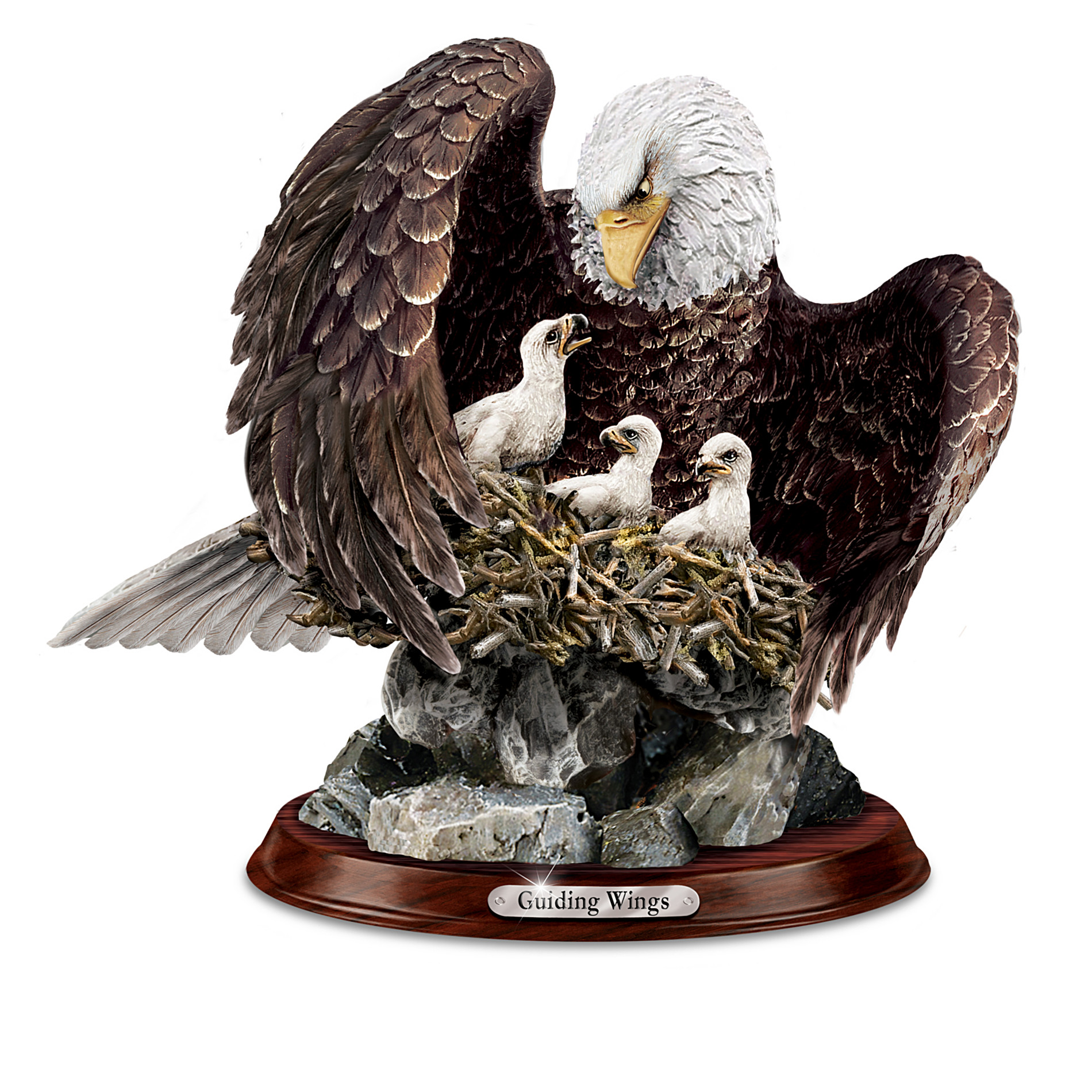 The Bradford Exchange Eagle Sculpture Collection: Noble Guardians at Sears.com