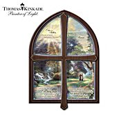 The Bradford Exchange Wall Decor: Thomas Kinkade Windows Of Prayer Collector Plate Collection at Sears.com